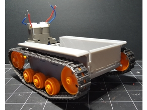 Tamiya Tank Chassis with Front Plates