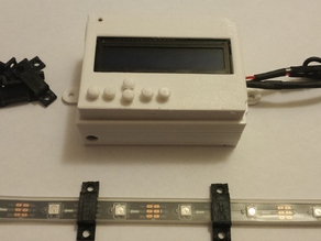 Arduino Uno Robot LCD cover and buttons