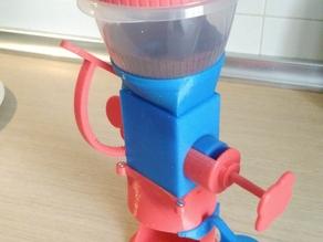 Dispensadora de cafe molido