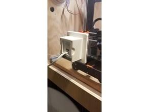 WYZE Cam through panel mount