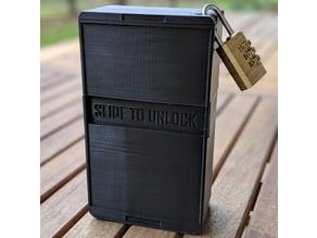 Geocaching Smartphone box