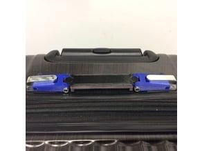 Collapsible luggage handle