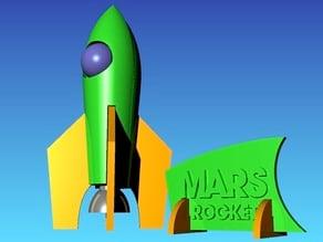 MARS ROCKET PUZZLE