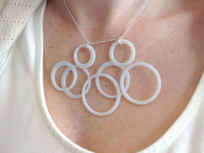 Playful Rings Necklace