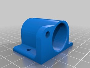 y axis bearing holder 10mm with endstop
