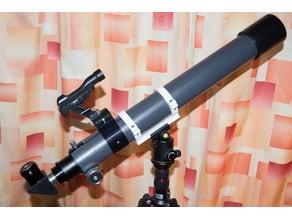 DIY Keplerian Telescope (Refractor)