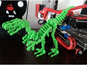 Dinosaur Skel for 3D Printer! - Terry the Dinosaur!