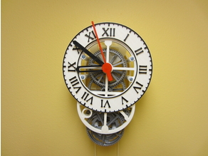 Roman clock face