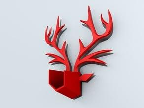 Antlers key box