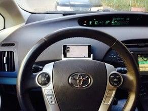 iPhone 5 car mount for steering wheel Prius