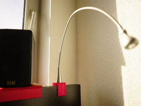 Heavy Ikea Janso Lamp - Malm Bed Headend Adapter Hack!