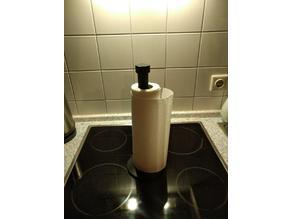 Kitchen roll holder optimised for vase mode