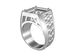 Men's Ring with pattern 04