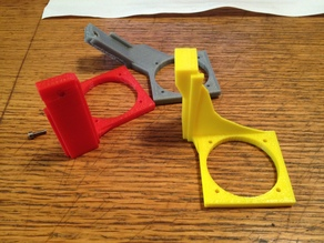 Printrbot Simple 2014 Fan Support Remix