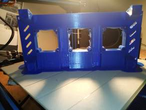 Cr10/Cr10S Controller Box plate with feet (Improved cooling and noise levels (60mm x3 fans)