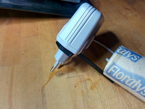 power adapter storing help light version to combine with toilet paper rolls