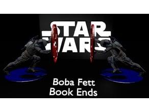 Star wars BoBa Fett book ends