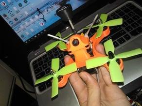 Mebi 130 - a 130mm fpv quadcopter frame