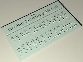 Braille Learning Board