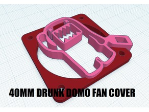 40MM DRUNK DOMO FAN COVER