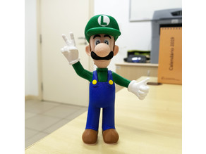 Luigi from Mario games - Multi-color