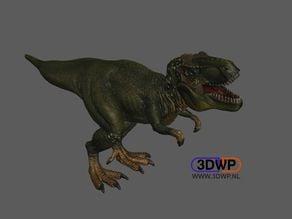 Tyrannosaurus Rex Figurine 3D Scan