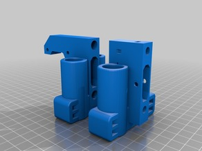 robo 3d vertical rod prusa style