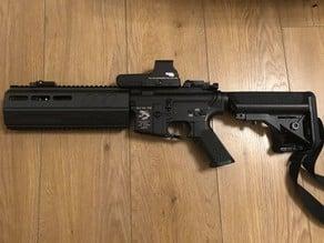 "M4 10"" handguard (airsoft)"