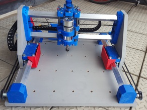 Root 2 CNC multitool router 3D printed parts