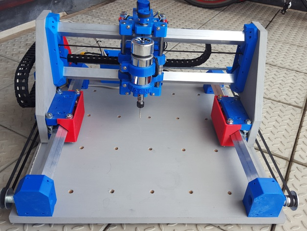 Root 2 Cnc Multitool Router 3d Printed Parts By Sailorpete