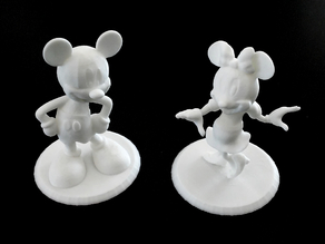 MIckey n Minnie Figurines