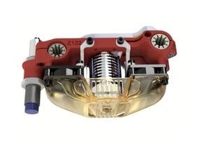 Remix conduits ventilos et centrage du bloc chauffant