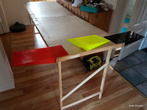 Painters table ->1m wide