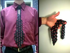 100% 3D Printed Hex Tie