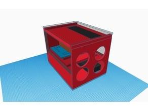 compact ATX case twin 360 mm rad