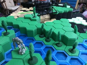 Battletech Hexes