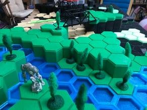 Battletech Hexes