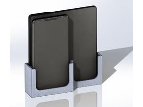 wall mount ebook+Smartphone