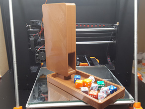 Portable, Compact Dice Tower/Case (magnetic)