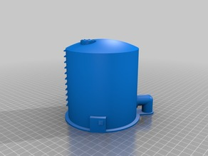 Storage Tank for 28mm Gaming