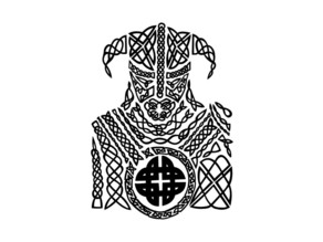 Celtic Viking Coaster