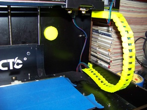 X-Axis Cable Chain for Replicator 1/CTC Bizer without connector disassembly