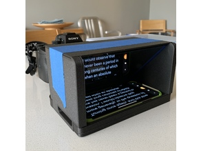 Teleprompter Brickhouse –  Solid Platform for DSLR/Full Frame Camera & Mobile Device