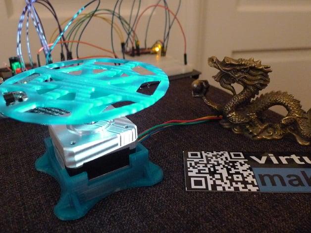 David 3D-Scanner Arduino Turntable by 3ernharD - Thingiverse