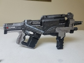 Mass Effect Locust SMG