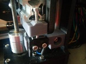 Parametric Makerfarm Prusa i3v micto adjustable Z stop.