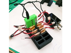 LiPo Battery and Charger Tray
