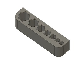 Metric Hex Key Desk Mount (1.5-6 mm)