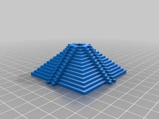 Mayan inspired pyramid 3