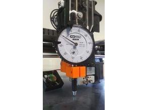 Dial gauge holder for Raise3D N2 & N2+